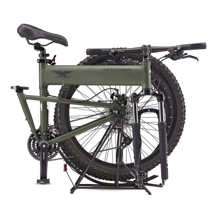 Montague Paratrooper Folding Mountain Bike Folded