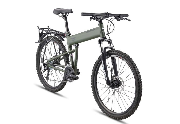 Montague Paratrooper Folding Mountain Bike Front