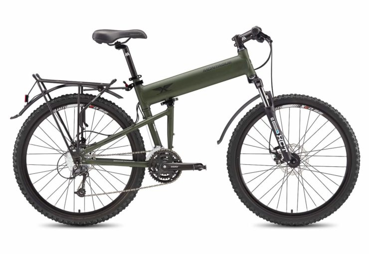 Montague Paratrooper Folding Mountain Bike Side