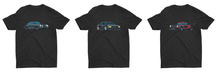 Nik Schultz Car T-Shirt Collage 1
