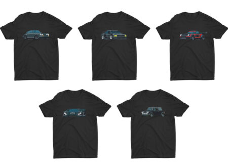 Nik Schultz Car T-Shirt Collage
