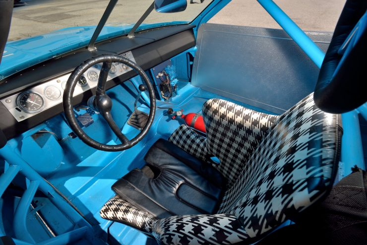 Plymouth Road Runner NASCAR Interior
