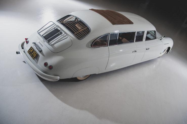 Porsche 356 Limousine Back