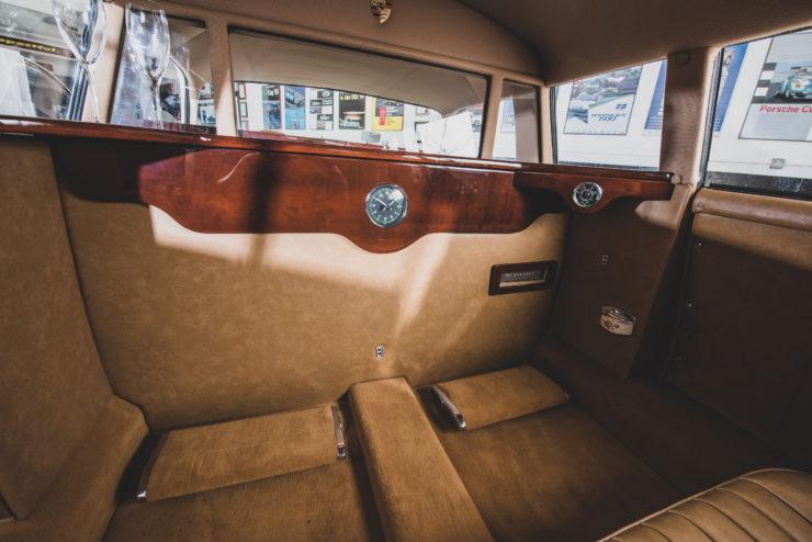 Porsche 356 Limousine Interior Back