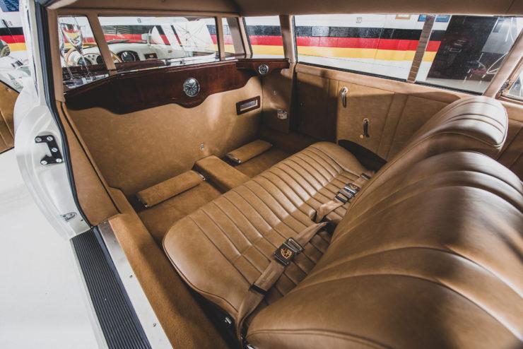 Porsche 356 Limousine Interior