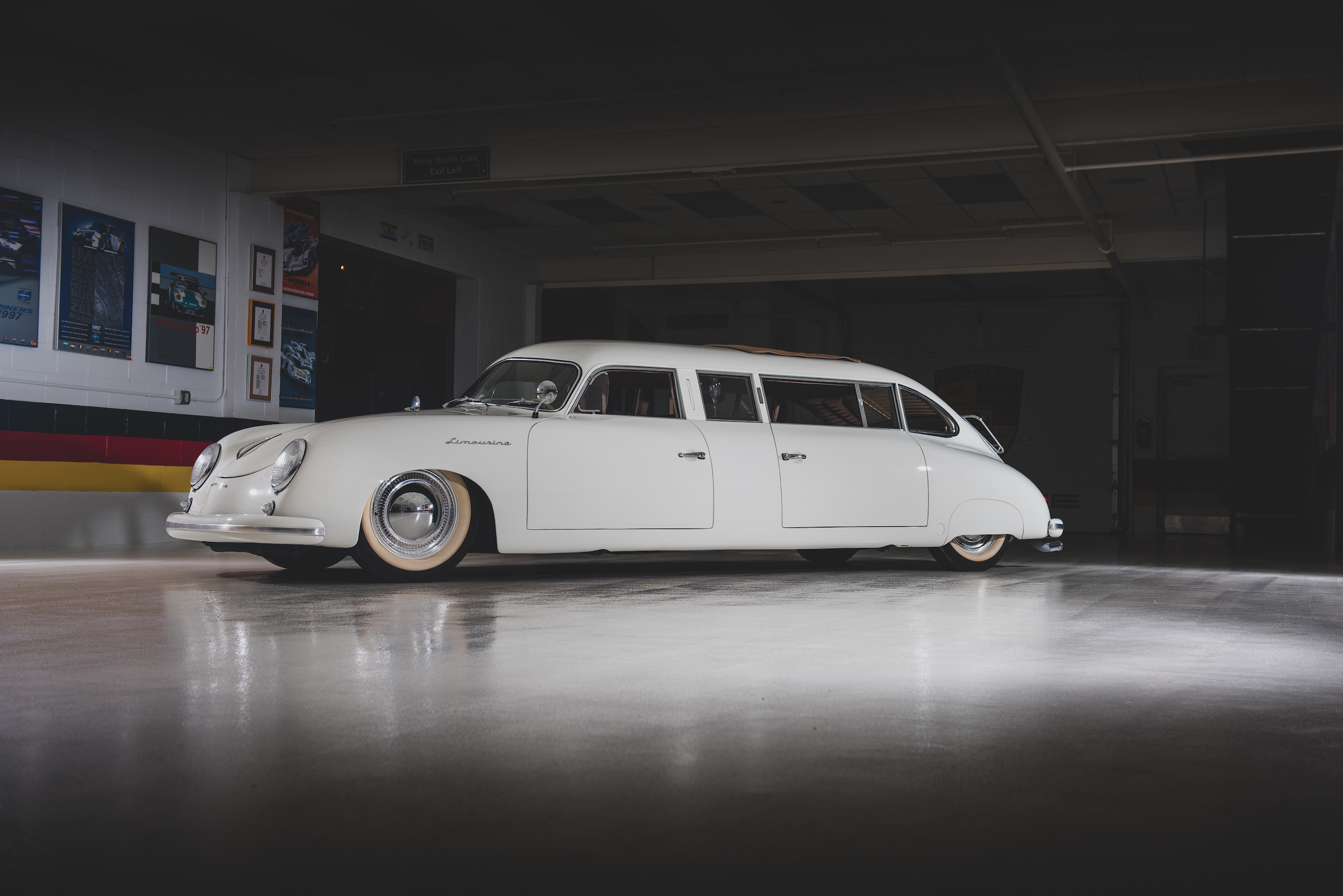 Now Solved* A Mysterious Porsche 356 Limousine - Can You