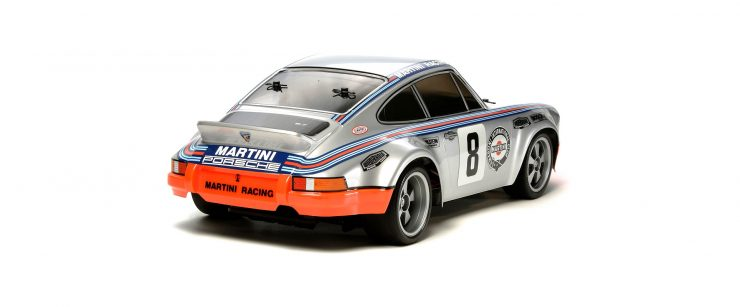 Porsche 911 Carrera RSR Tamiya Remote Control Model Rear