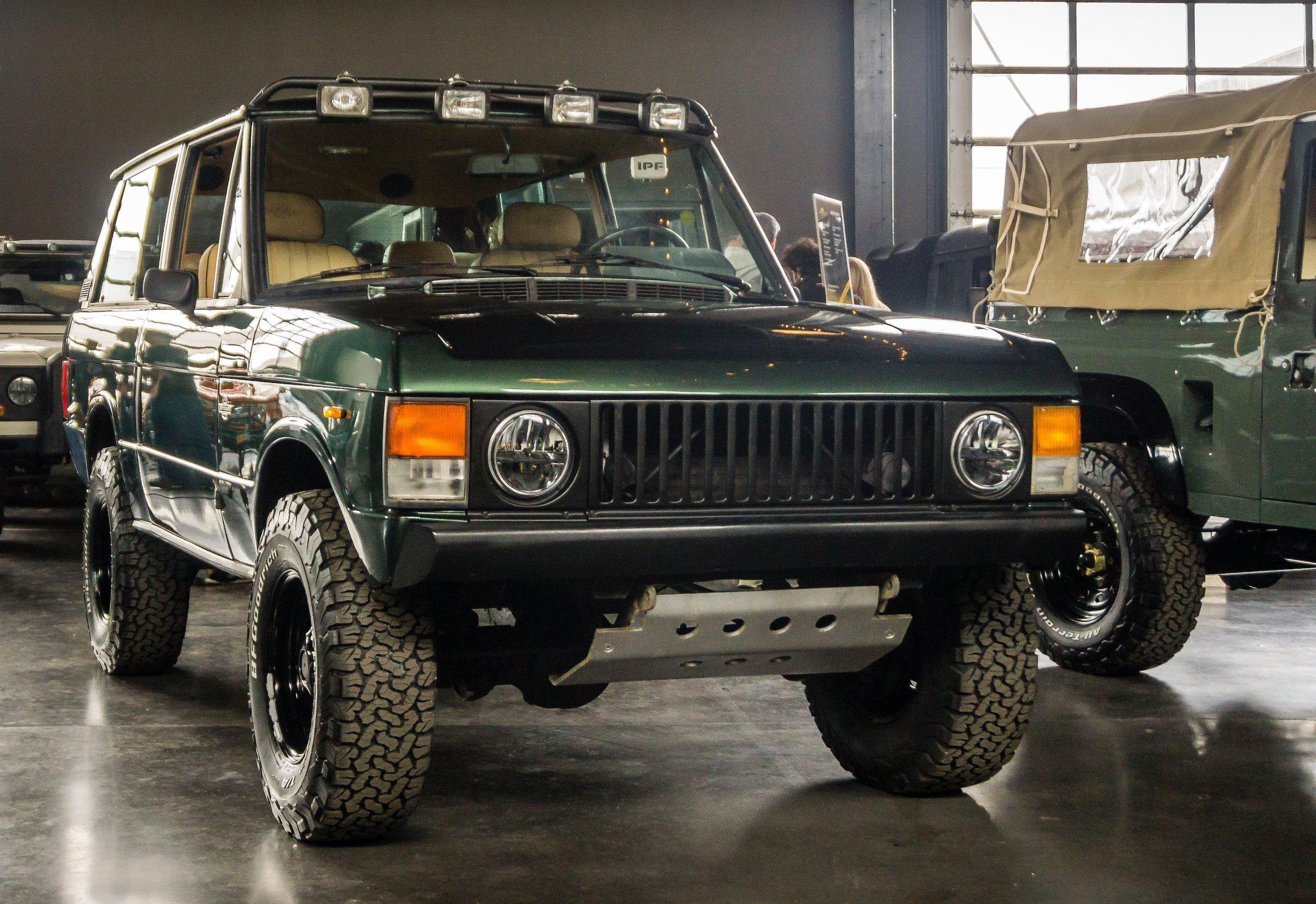 Range Rover Classic Two-Door Grille