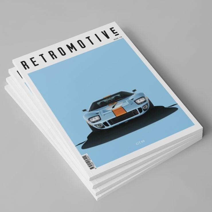 Retromotive Magazine Volume 5 Stack