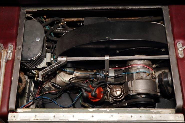 Tempo Mikafa Sport Camper Porsche Engine