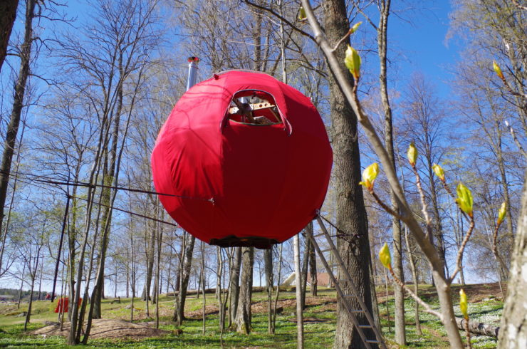 Tree Tent Red