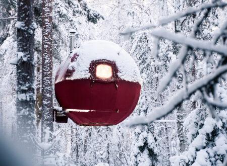 Tree Tent Snow 2