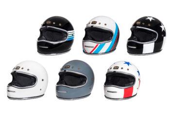 Urban BigBore Retro Full Face Motorcycle Helmet