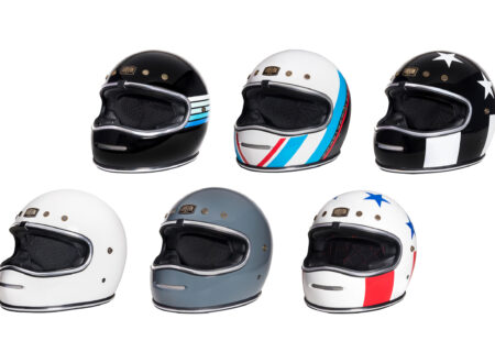 Urban BigBore Retro Full Face Motorcycle Helmet