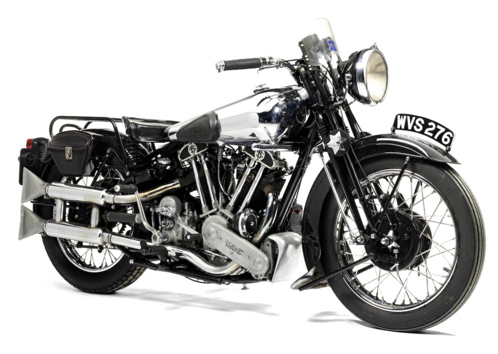 Brough Superior SS100 motorcycle
