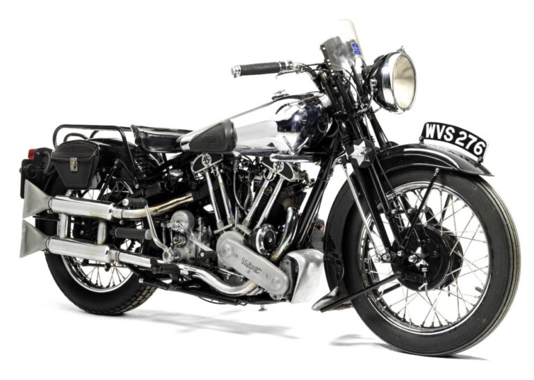 A Brief History of the Brough Superior SS100 - The World's First Superbike