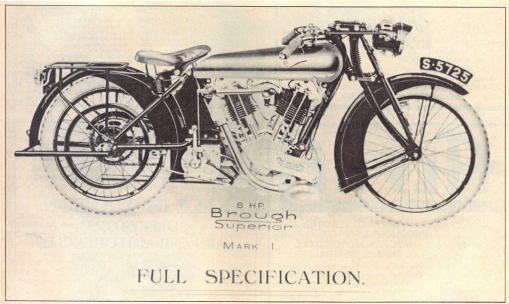 Brough Superior 8hp Mark One