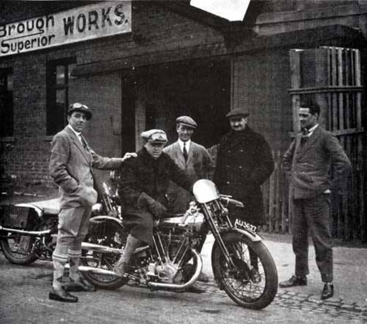 Brough Superior motorcycle factory