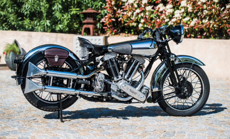 Brough Superior SS100 Matchless engine