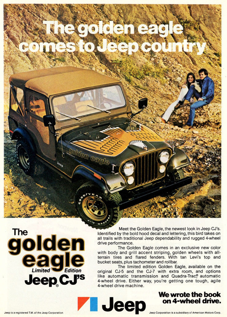 Jeep CJ5 Golden Eagle