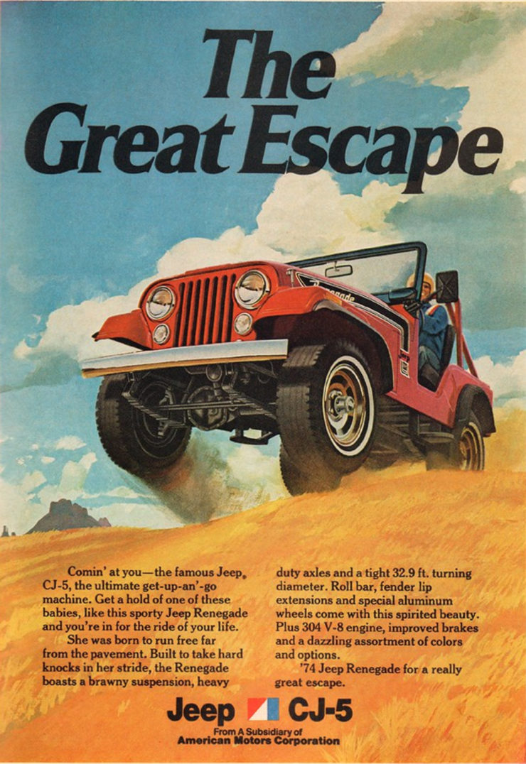 Jeep CJ the great escape