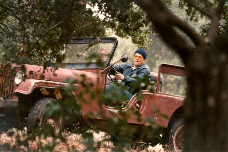 Jeep CJ8 Ronald Reagan