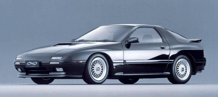 Mazda RX7 Infini sports car