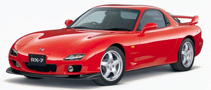 Mazda RX7 sports car