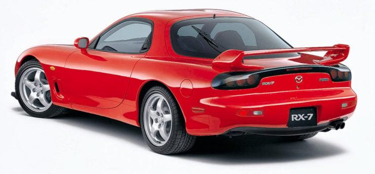 Mazda RX-7 sports car