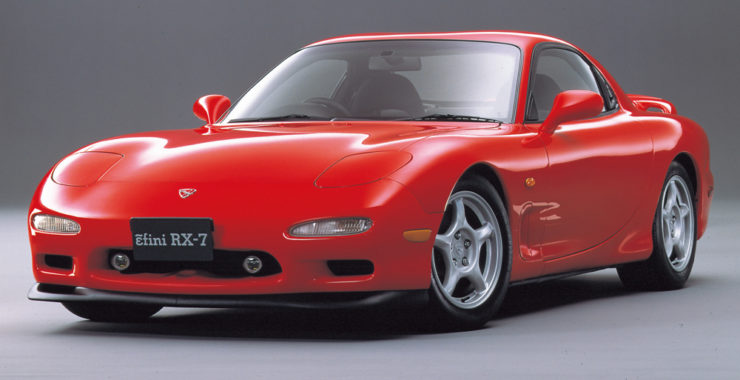 Mazda ɛ̃fini RX-7 sports car