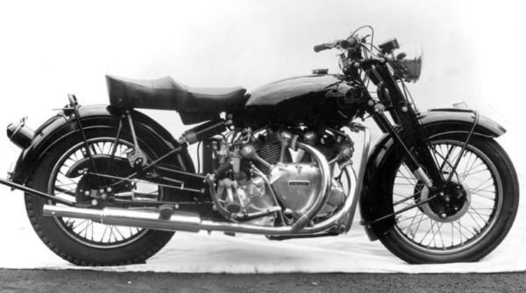 Vincent Indian prototype motorcycle