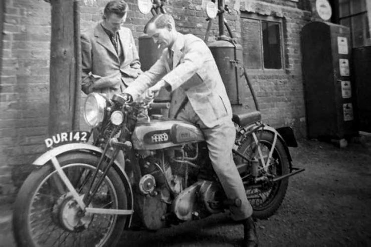 Phillip Vincent Phil Irving Vincent HRD motorcycles