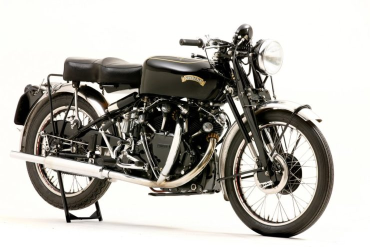 Vincent Black Shadow Gunga Din motorcycle