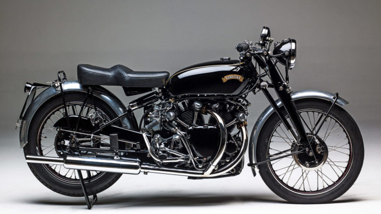 Vincent Black Shadow motorcycle