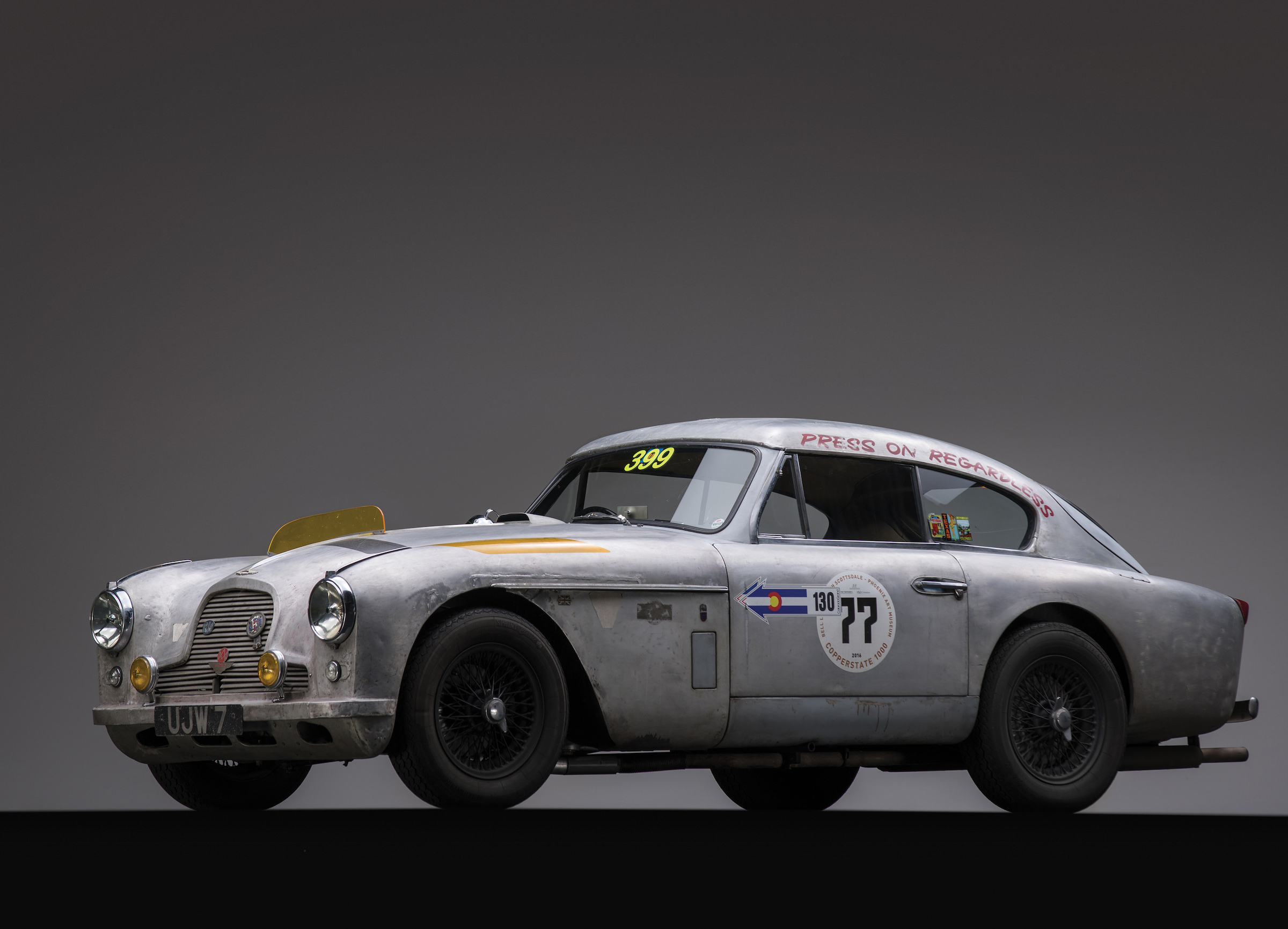1957 Aston Martin Db2 4 Mk Ii The Aston That Can T Be Killed