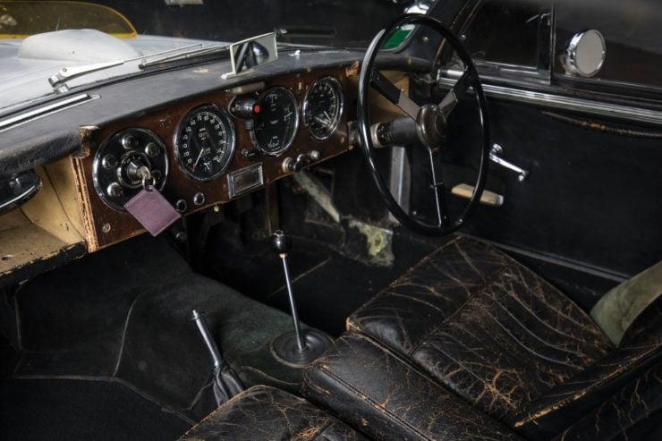 Aston Martin DB2/4 Mk II Interior