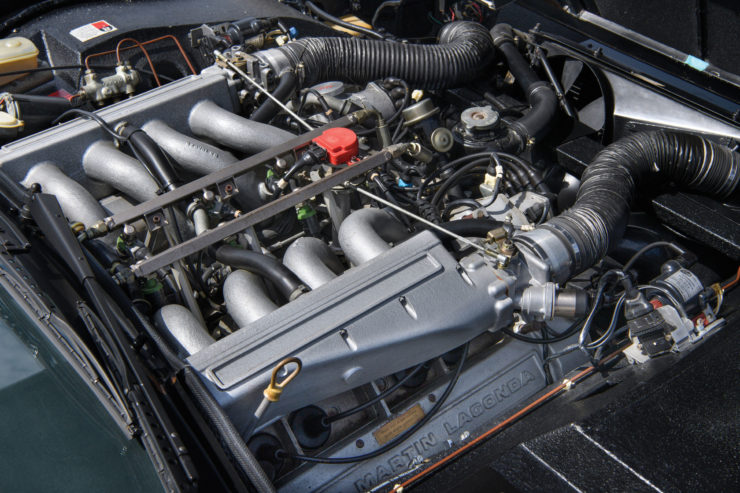 Aston Martin Lagonda Shooting Brake Engine