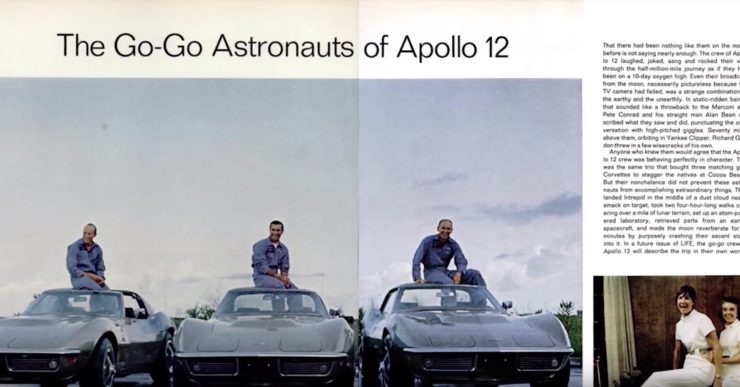 Astronaut Corvette Astrovette 3