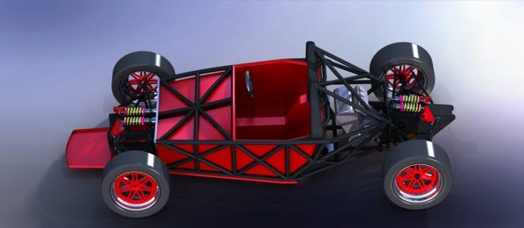 Burton Trackster Chassis Overhead 6