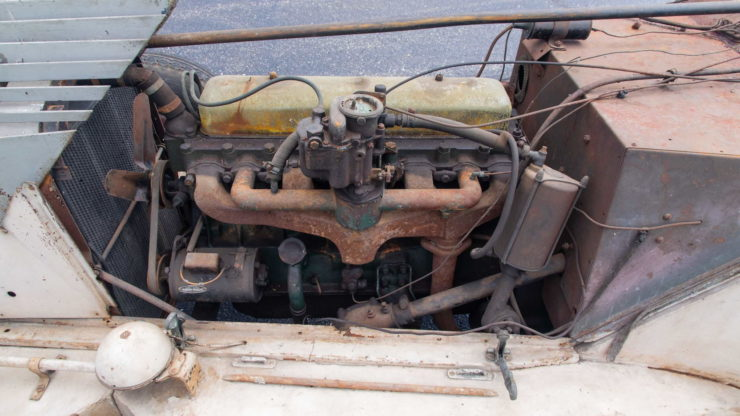 Chevrolet Alex Tremulis-Designed Custom Car Engine 2