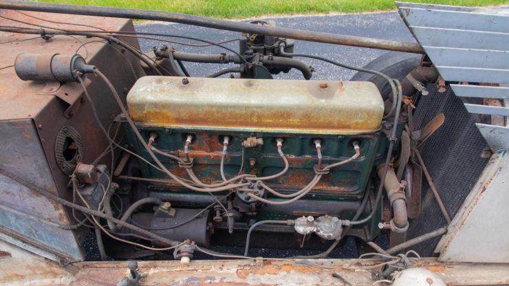 Chevrolet Alex Tremulis-Designed Custom Car Engine