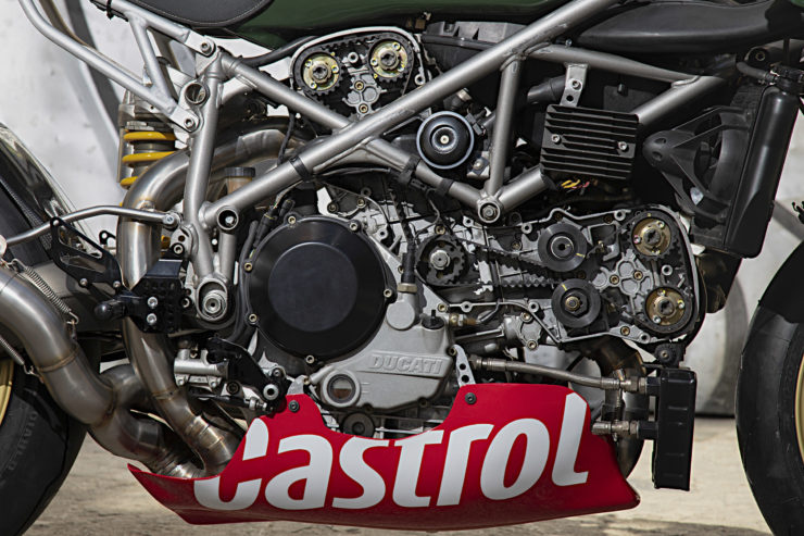 Custom Ducati 999 Engine