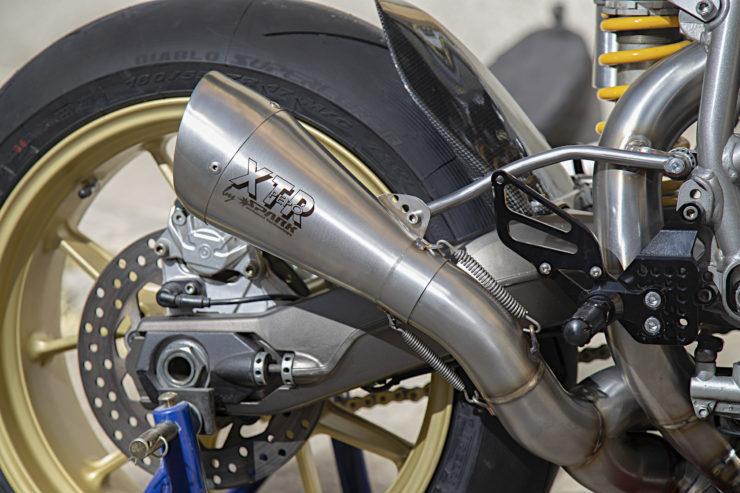 Custom Ducati 999 Exhaust