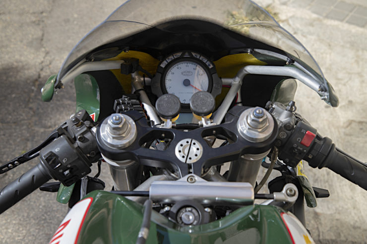 Custom Ducati 999 Gauges