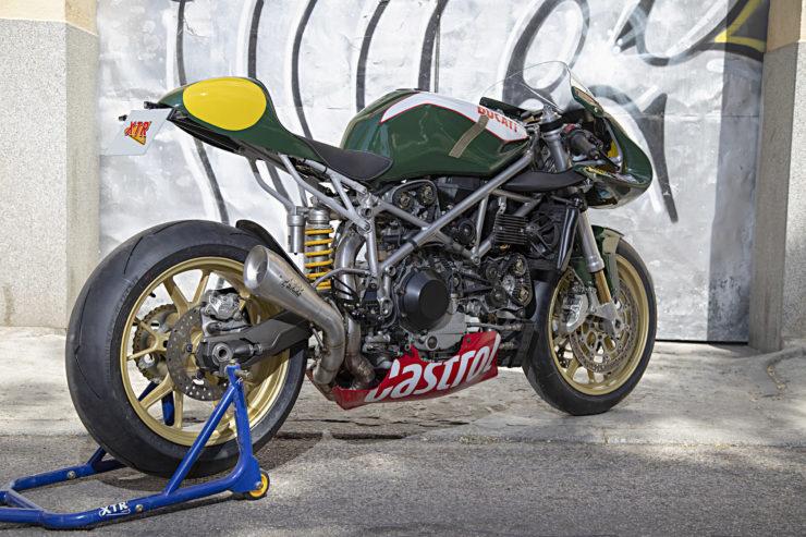 Custom Ducati 999 Rear 2
