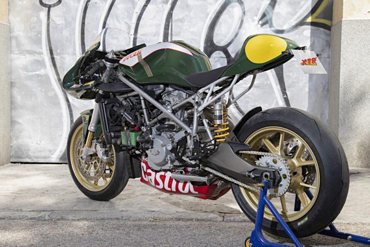 Custom Ducati 999 Rear