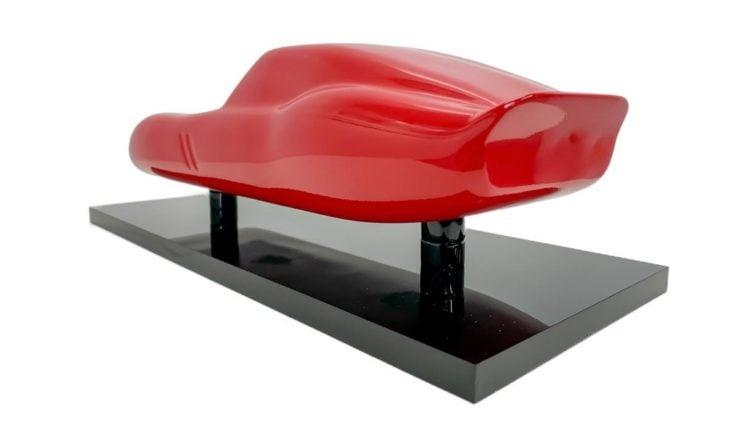 Ferrari 250 GTO Model Sculpture Rear
