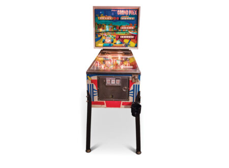 Grand Prix Pinball Machine by Williams
