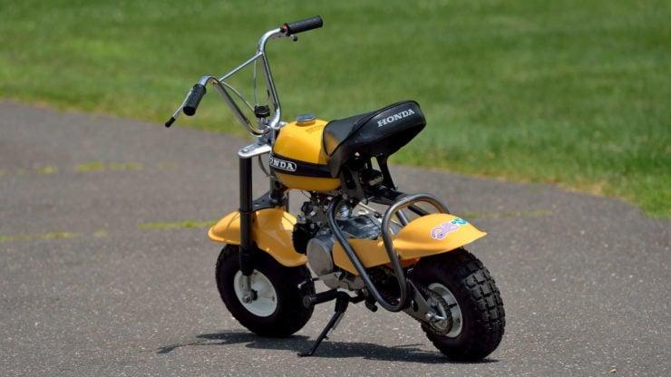 Honda QA50 KO Minibike Back