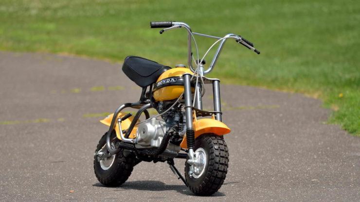 Honda QA50 KO Minibike Front 2